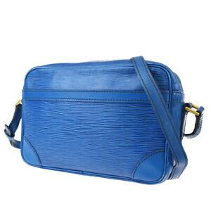 Authentic LOUIS VUITTON Trocadero 24 Shoulder Bag Epi Leather BE M52315 61MG885