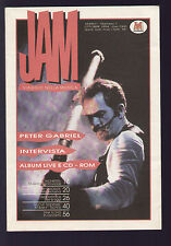 JAM 1/1994 PETER GABRIEL FRANK ZAPPA PINK FLOYD THE WHO GRANT LEE BUFFALO COODER