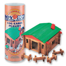 Roy Toy: Traditional Log Cabin, 140 pcs.