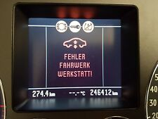 VW Phaeton 3d Tacho / Kombiinstrument V10 TDI 320km/h RB8 3D0920882e