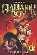 Escape from Evil #2 (Gladiator Boy), Grimstone, David, Good Book