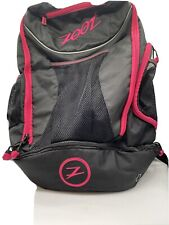 New listing ZOOT Black Pink Triathlon Transition Bag 2.0 Athletic Runners Cyclists Backpack