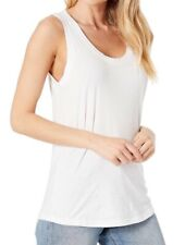 AG Adriano Goldschmied Women's Cambria Tank Top True White Size XS