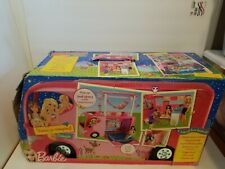 Mattel Barbie Sisters Family Pop Up Camper Brand New 2010