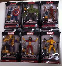 "MARVEL LEGENDS INFINITE THANOS Build A Figure Wave, 6"" FIGURE SET OF 6 Avengers"