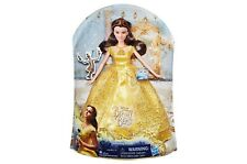 """Disney Beauty and the Beast Enchanting Melodies Singing Belle 11.5"""" Doll NEW"""