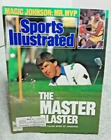 Sports Illustrated April 17 1989 Nick Faldo Masters Magic Johnson Lakers