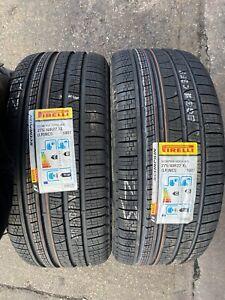 2x 2754022 Pirelli Verde Winter XL 275 40 22 275/40/22  M+S Tyres x2 NCS LR 108Y