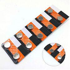Best 10X AG13 LR44 SR44 L1154 357 A76 Button Coin Cell Pack Alkaline Batteries
