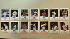 Baseball Cards Tigers Team Set 14 Cards - 1989 State Police Cards - New