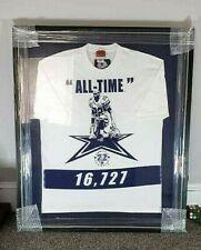 "NFL Dallas Cowboys Emmitt Smith All Time Yards T-Shirt Decoration Framed 40""X34"""
