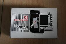 Mamiya Roll Film Back 220      -OVP/Neuwertig-
