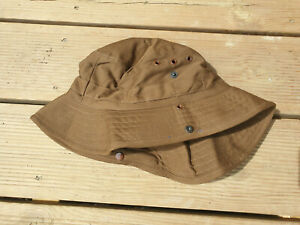 SOUTH AFRICAN SADF NUTRIA BROWN BUSH / BOONIE HAT SIZE 61 X LARGE SIZE SPECIFICO