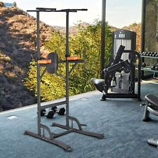 Power Tower Workout Pull Up Dip Station Home Gym Fitness Equipment US