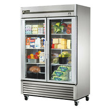 True T 49g Hc Commercial Reach In Glass Swing Door Refrigerator