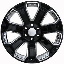 "20"" Wheels For Chevrolet Silverado 1500 Suburban C2500 Sierra Tahoe GMC Rims Set"