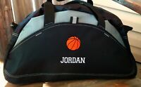 Basketball Duffel Bag Personalized Gym Bag Embroidered Duffle Bag Monogrammed