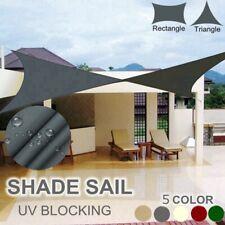 Sun Shade Sail Outdoor Garden Waterproof Awning Canopy Patio Cover 98% UV Block