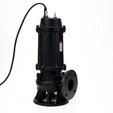 Fäkalienpumpe Tauchpumpe Schmutzwasserpumpe IBO MWQ  2,2KW - 3KW - 5,5KW / 400V