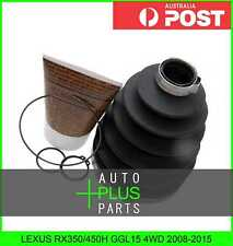 Fits LEXUS RX350/450H GGL15 4WD - Outer C.V. Joint Boot (92X119X26.6) Kit