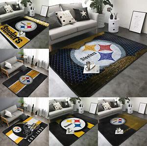 Pittsburgh Steelers Aare Rugs Fluffy Rugs Living Room Bedroom Floor Mat Carpet