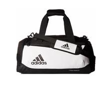 Adidas Team Issue Small Duffel Bag White/Black B172 0134978 New