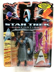"NEW *Sealed* STAR TREK GENERATIONS 5"" Figure Klingon B'Etor"