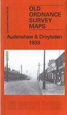 Audenshaw & Droylsden 1933: Lancashire Sheet 105.09b by Alan Godfrey (Sheet map,