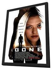 GONE Movie POSTER 27x40 Amanda Seyfried Jennifer Carpenter Daniel Sunjata Wes