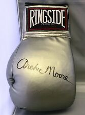 Archie Moore Signed Autographed Silver Ringside Boxing Glove COA