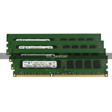 32GB 16GB 8GB 4GB Samsung DDR3 1333MHz PC3-10600E Dimm sem Buffer Código error-correcting Lote De Memória