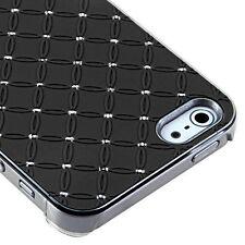 For Apple iPhone 5 5S SE HARD Executive Case Phone Cover Black Dazzling Diamond