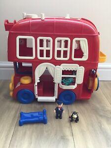 Bluebird Big Red Fun Bus, Vintage Retro 80's Toy.