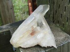 Arkansas Quartz Crystal cluster 71mm Natural