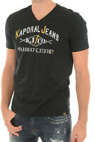 KAPORAL T-Shirts Homme MAKAO Noir