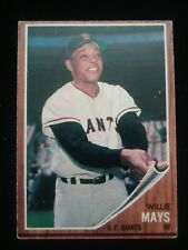 1962 Topps #300 Willie Mays, HOF, VG-EX+ All-time Great!