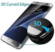 Samsung Galaxy S7 3D Curved Schutzglas SchutzFolie Gewölbt 9H Transparent
