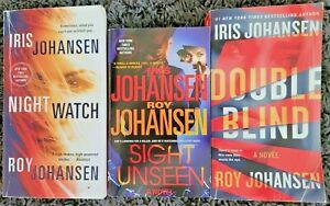IRIS / ROY JOHANSEN KENDRA MICHAELS TITLES 3 BOOK THRILLER SUSPENSE
