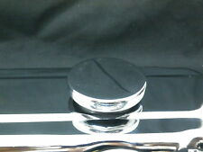 OIL CAP CHROME PUSH IN WITH GROMMET TO SUIT 1 1/4 HOLE