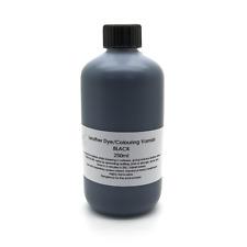 Black Leather Dye for MINI COOPER S ONE D Car Interior Seats Colour Repair 250ml