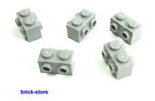LEGO® Nr- 4657459 / 1x2 Grundbaustein mit Noppen beide Seiten hellgrau / 5 Stück