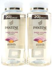 2 Pantene Pro-V Sheer Volume Silicone Free Shampoo 25.4oz Bottles