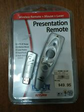 NEW Keyspan PR-US2 Tripp Lite Presentation Wireless Remote Control w/ Laser /