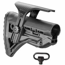 GL-Shock Fab Defense Stock Collapsible Buttstock Tactical Mil-Spec Cheek Rest