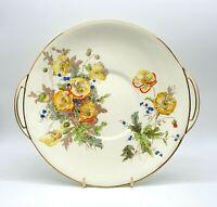 Art Deco Royal Doulton porcelain sandwich plate. Pattern Marie.