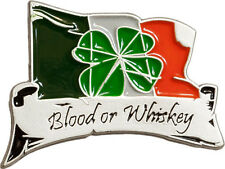 Blood or Whiskey Pin Métal Agrafe