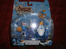 ADVENTURE TIME COLLECTORS PACK FINN & ICE KING