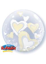 Avorio Cuore Double Bubble Palloncino Elio