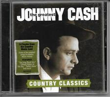 The Greatest: Country Classics by Johnny Cash (CD, Aug-2012, Columbia (USA)) NEW