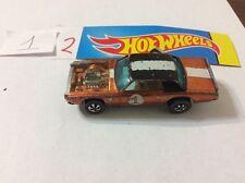 Vintage Hot Wheels Redline Tnt Orange car 1969 #12